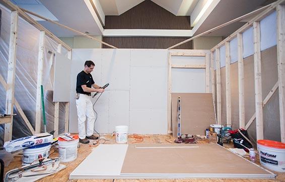 Installation and Finishing with Drywall Specialist Myron Ferguson