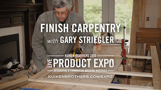 Finish Carpentry with Gary Striegler