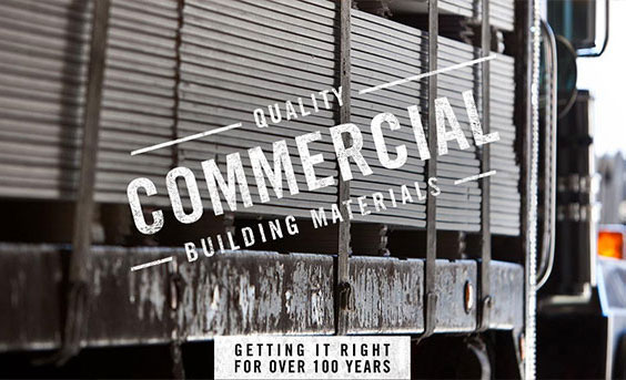 Quality Commercial Building Materials - Getting it right for over 100 years