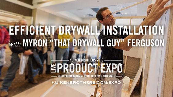 Drywall Installation with Myron - That Drywall Guy - Ferguson