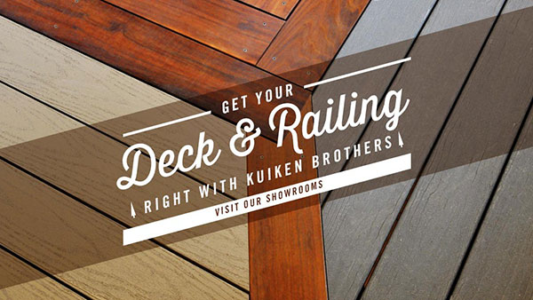 Get Your Deck and Railing right with Kuiken Brothers