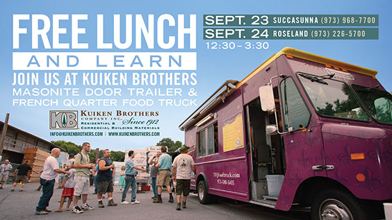 Special Food Truck Lunch and Learn Event with Masonite Doors