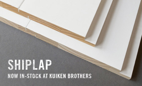 SHIPLAP – NOW IN-STOCK AT KUIKEN BROTHERS
