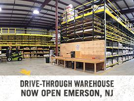 Drive-Through Warehouse Now Open Emerson, NJ