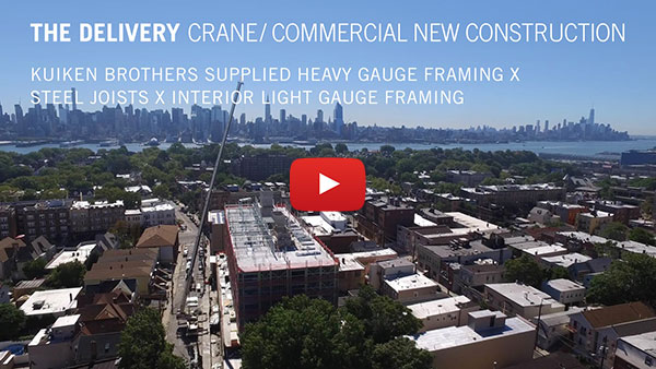 The Delivery Crane / Commercial New Construction - Kuiken Brothers Supplied Heavy Gauge Framing X Steel Joists X Interior Light Gauge Framing