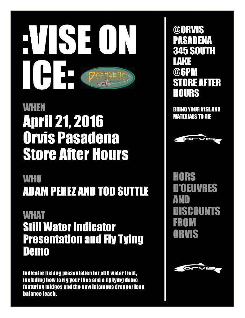 Vise on Ice