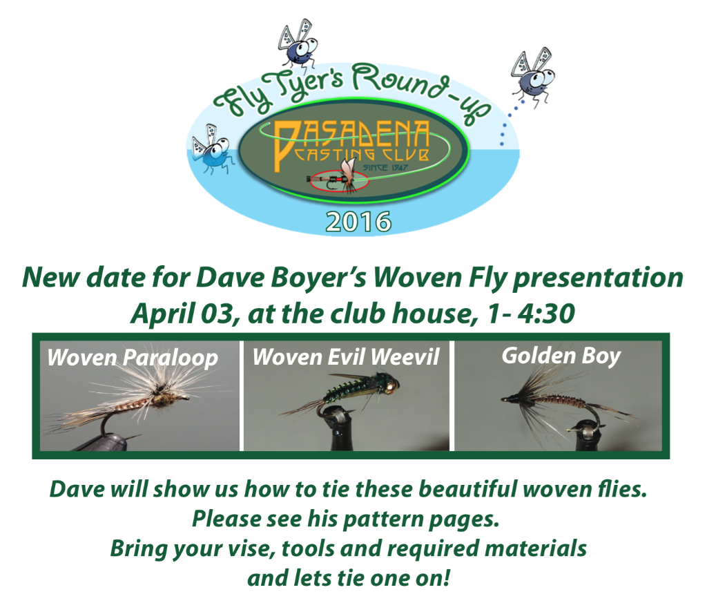 Dave Boyer Woven Fly Presentation
