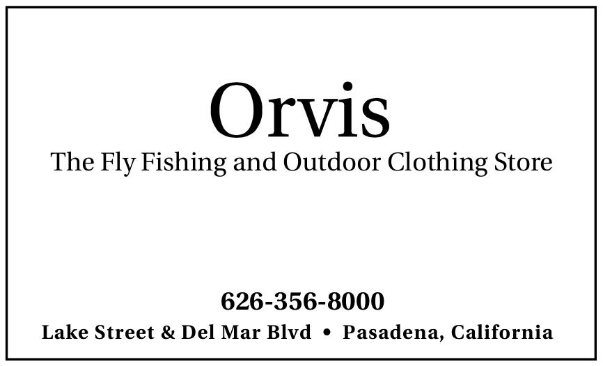 Orvis Pasadena