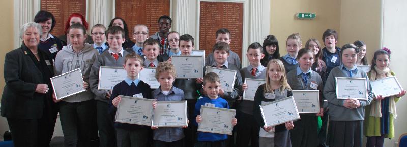Green-Schools Travel Awards 2012