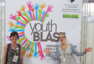 Doris Ragettli and Louise Kulbicki present Ecocide and Rights of Nature at Youth Blast