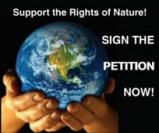Say YES to Rights of Nature! Sign our petition now.