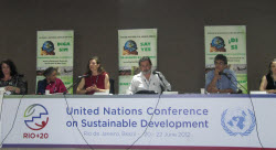 Rights of Nature Panel at Rio+20 Inside event