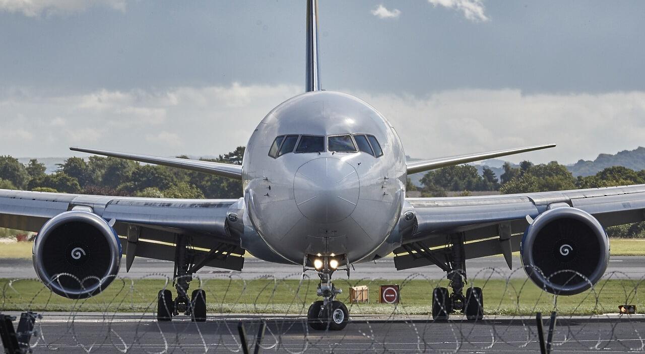 Avião parado