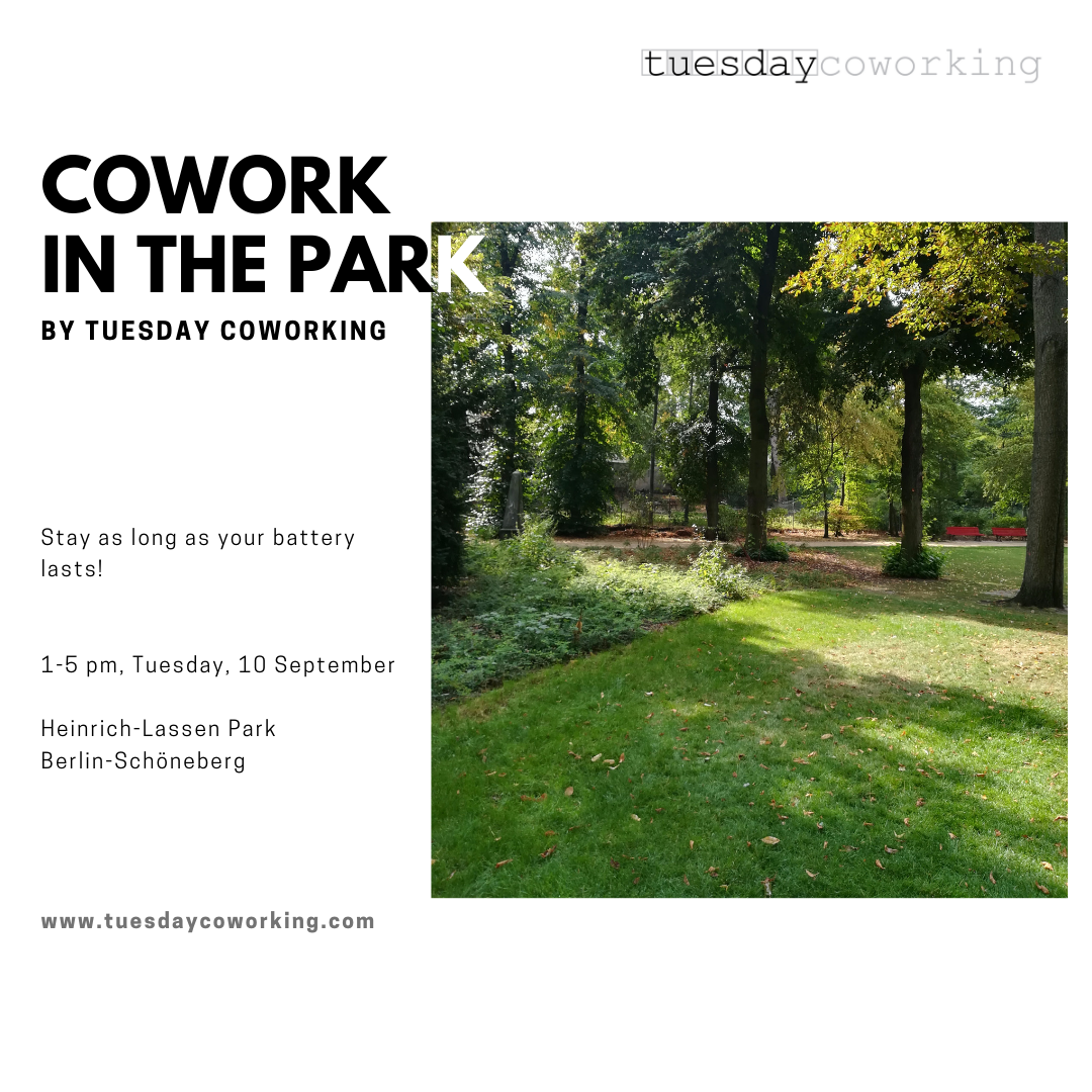 This September at tuesday coworking 2