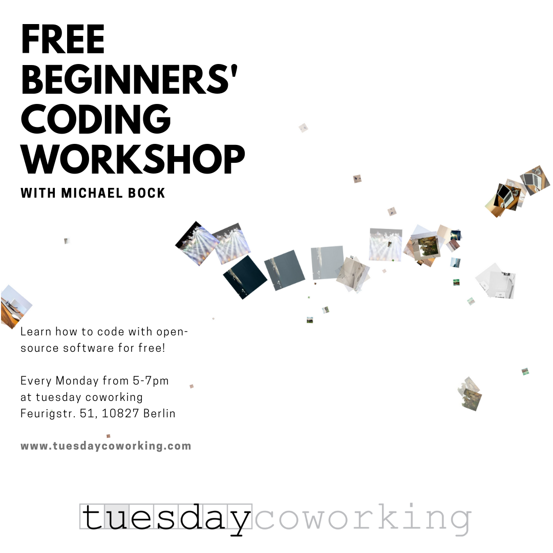 This September at tuesday coworking 6