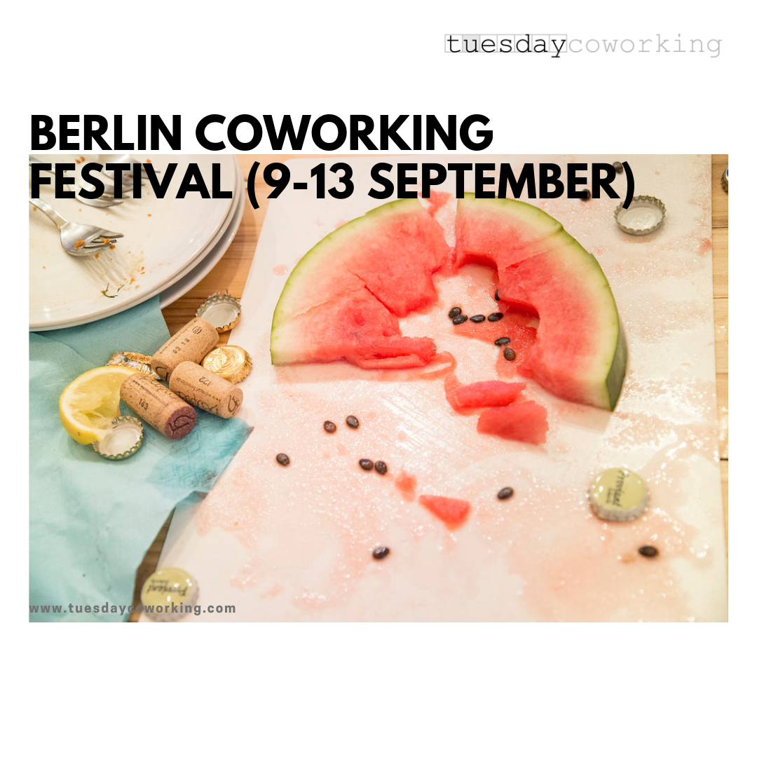 This September at tuesday coworking 1