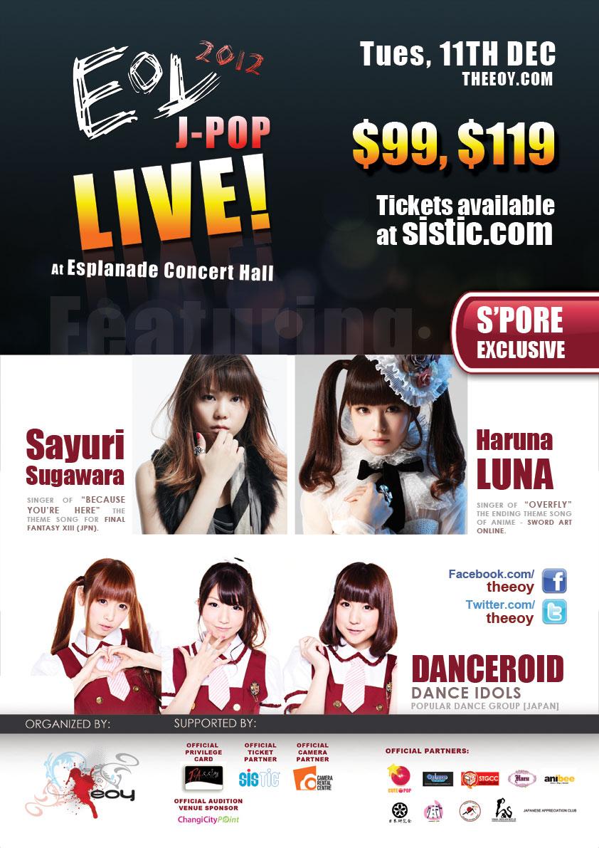 EOY J-POP Live 2012