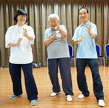 Madam Park, Drs Song and Lam