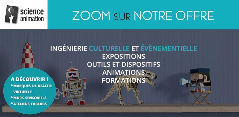 Bannière Science Animation