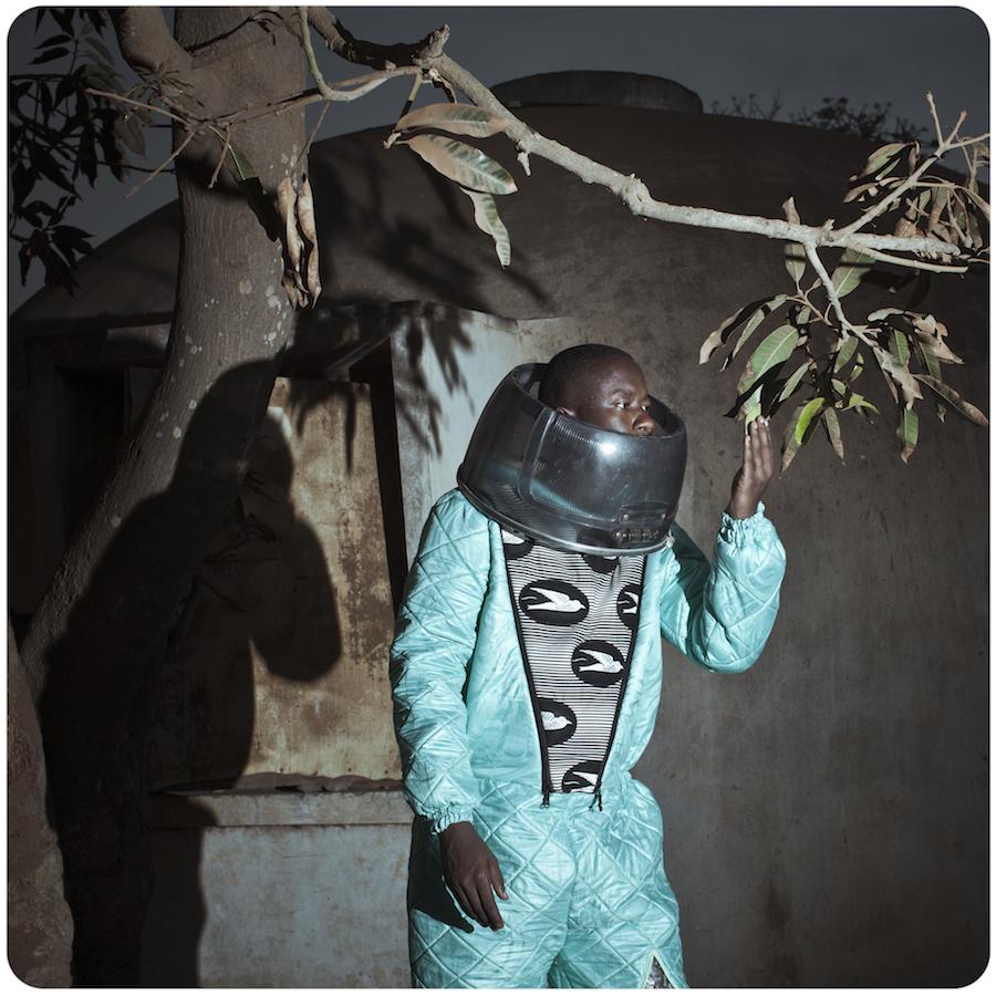 African space explorer. Photo by Cristina De Middel.