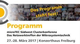 Clusterkonferenz 2017 Programm
