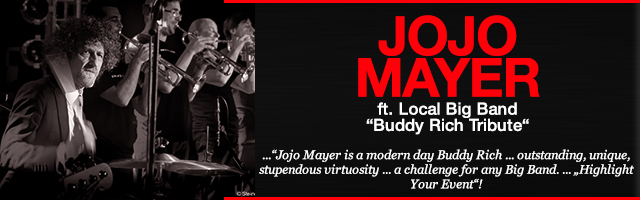 "Jojo Mayer ""Buddy Rich Tribute"""