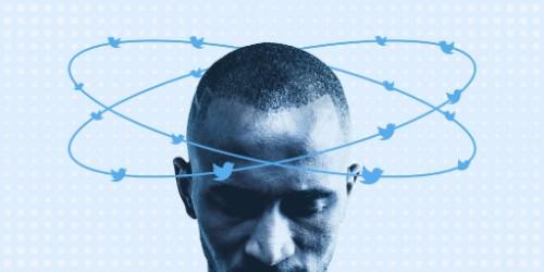 Bots Twitter tournants autour d'un homme