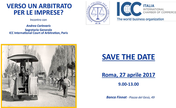 arbitrato nuovo regolamento ICC