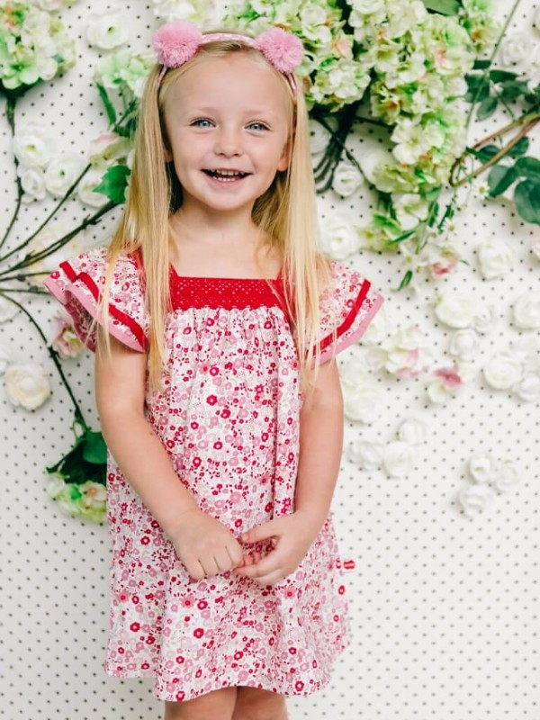 Exclusive - Wild For Wildflowers - The Happiness Blog   Oobi Girls Kid Fashion