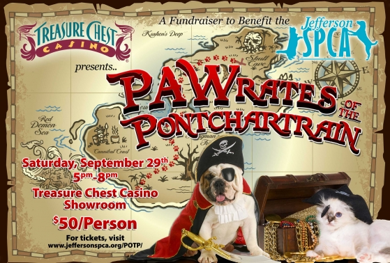 PAWrates of the Ponchartrain poster