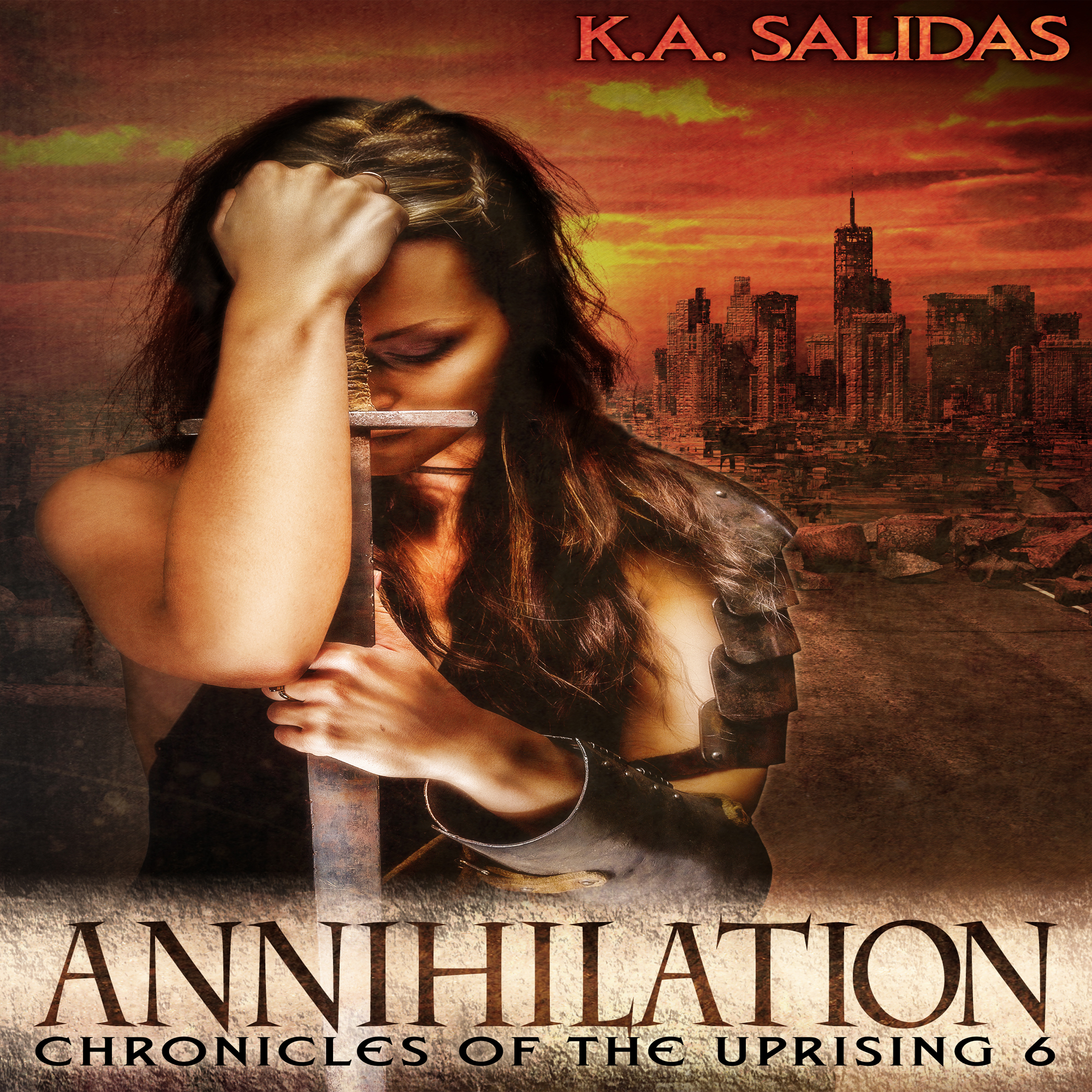 Annihilation by Katie Salidas