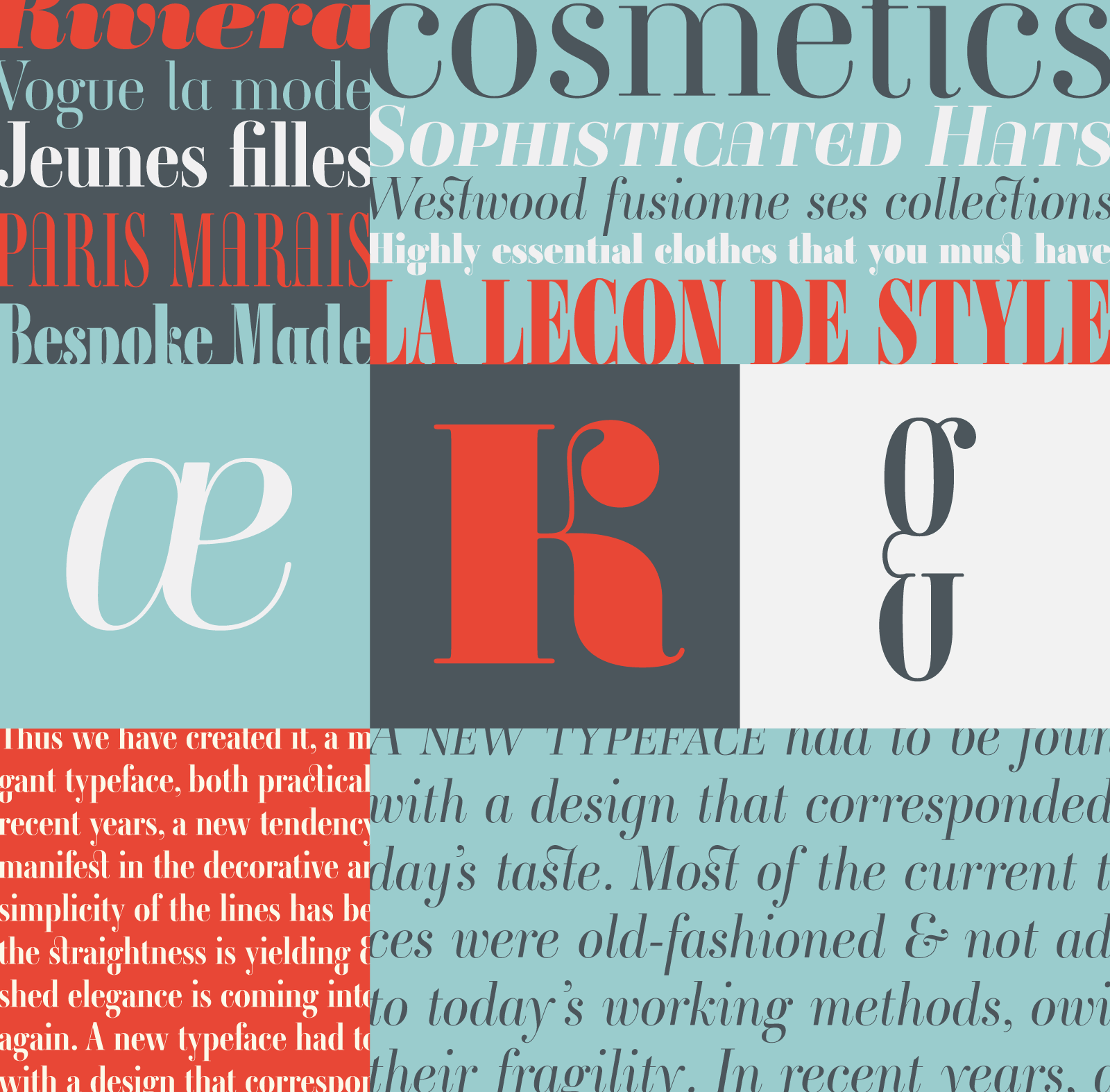 Ambroise isn't a strict revival of Didot