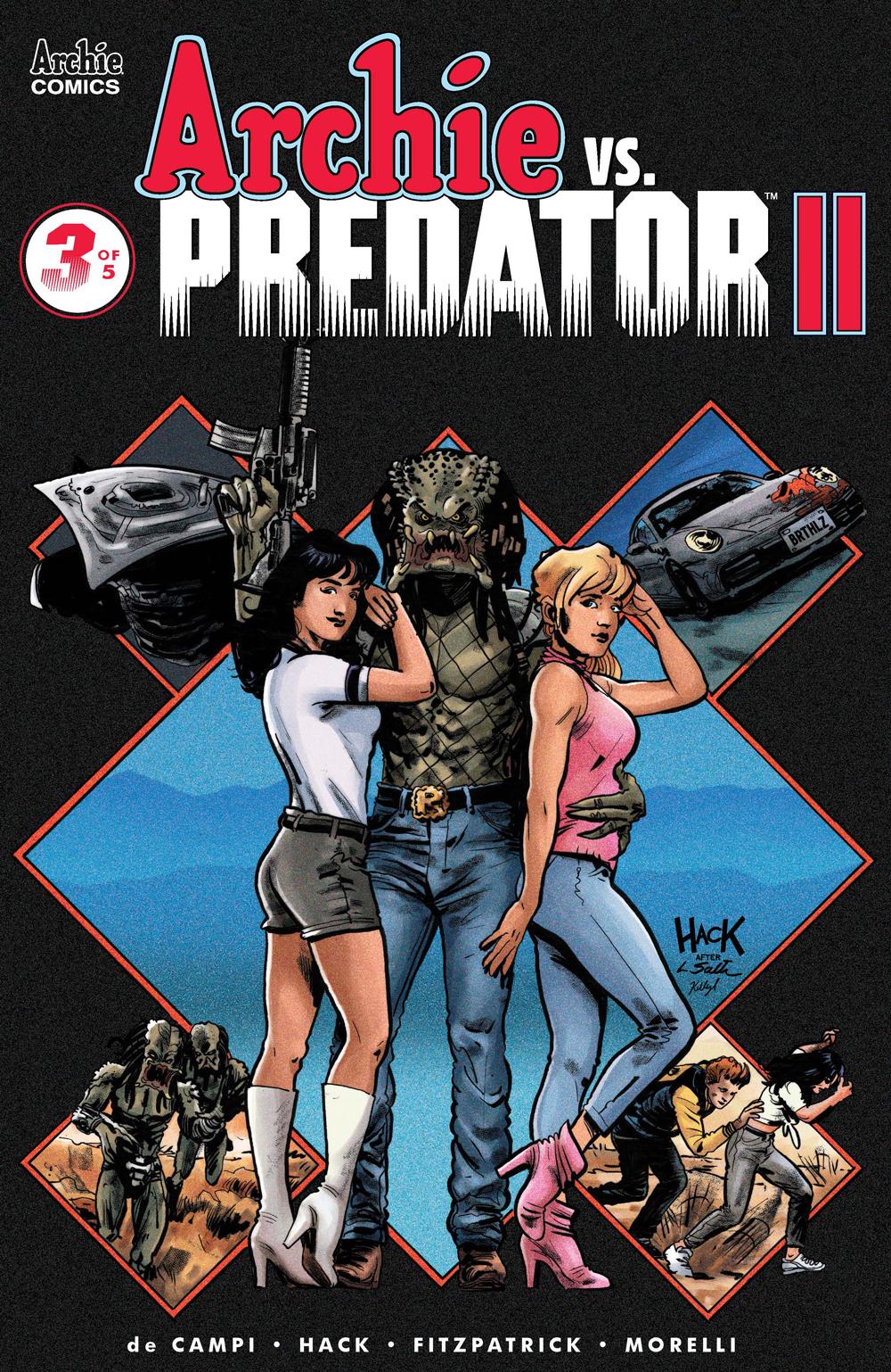 ARCHIE VS. PREDATOR 2 #3: CVR A Hack