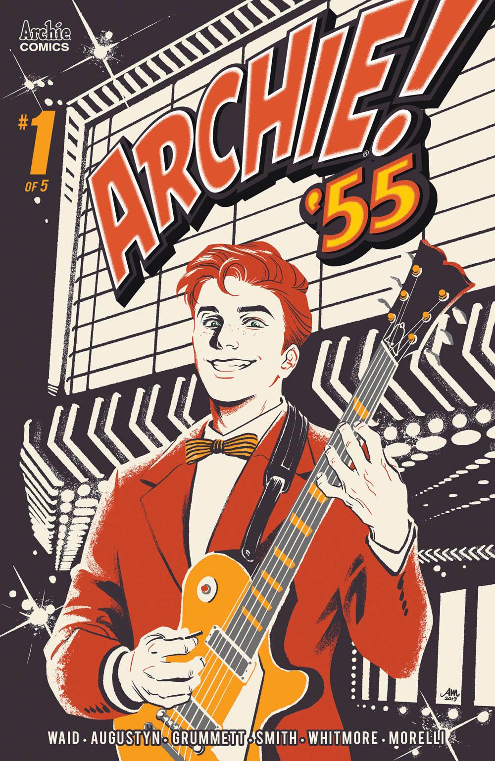 ARCHIE 1955 #1: CVR A Mok