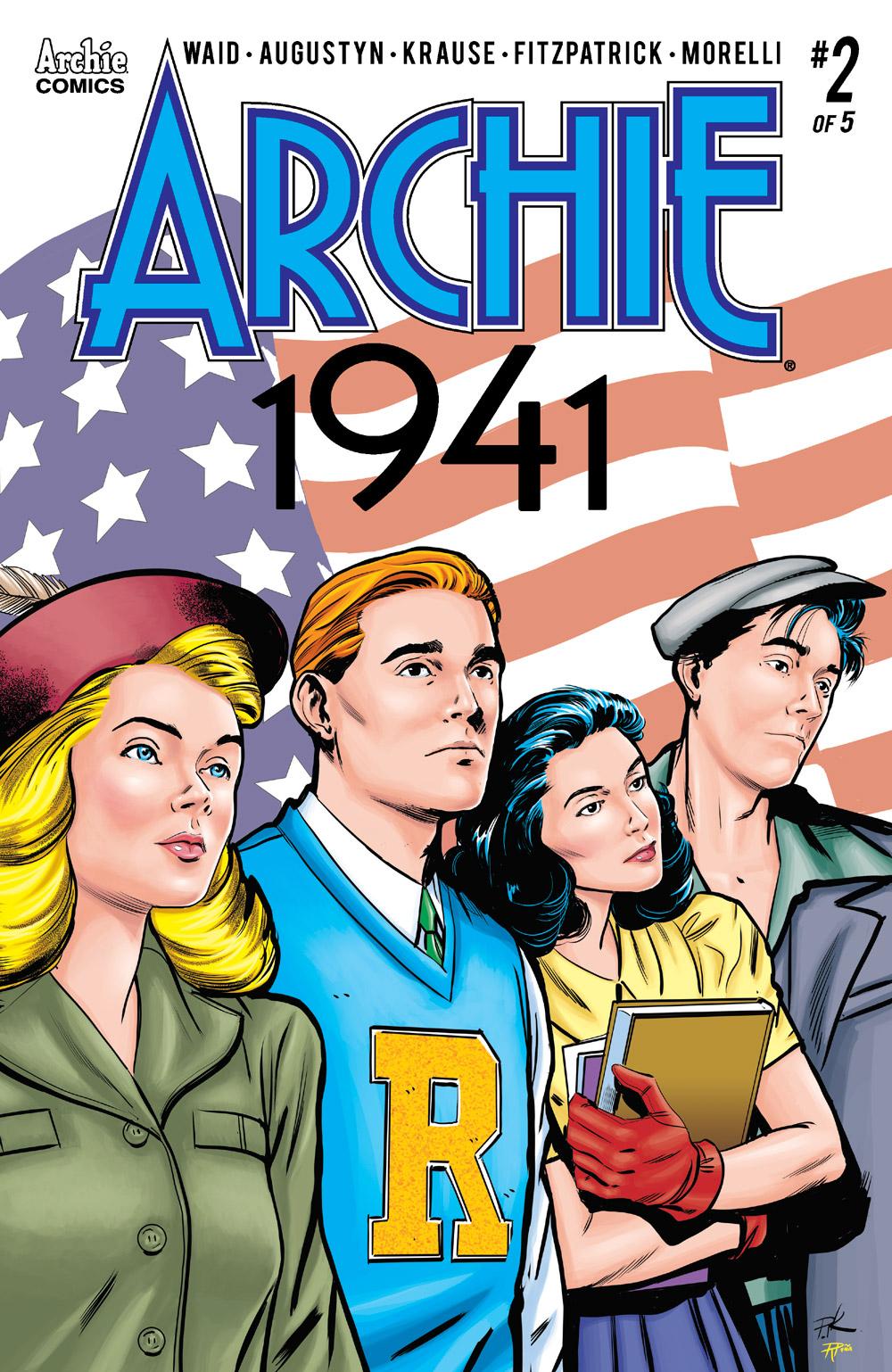 ARCHIE 1941 #2: CVR A Krause