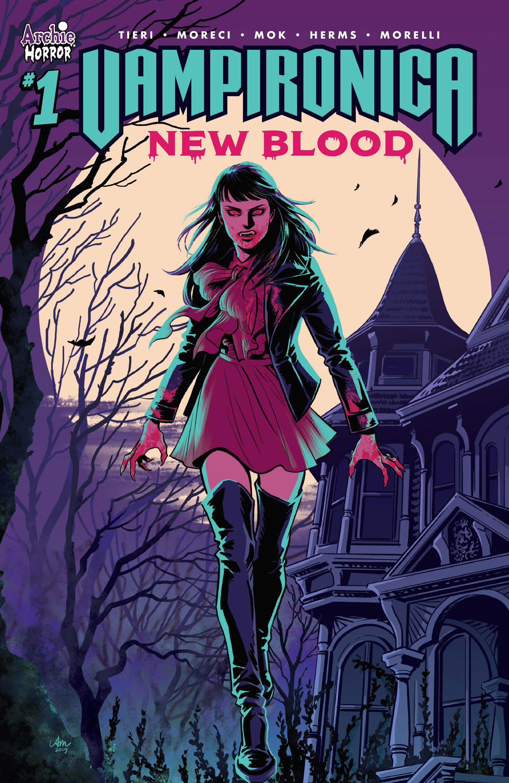VAMPIRONICA: NEW BLOOD #1: CVR A Mok