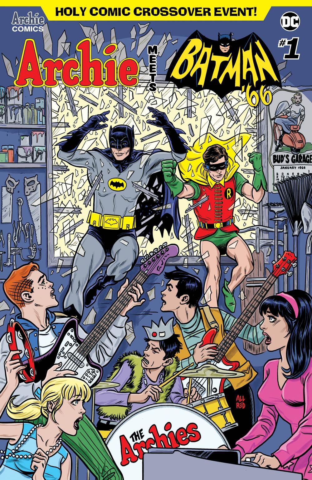 Archie Meets Batman '66 #1: CVR A Allred