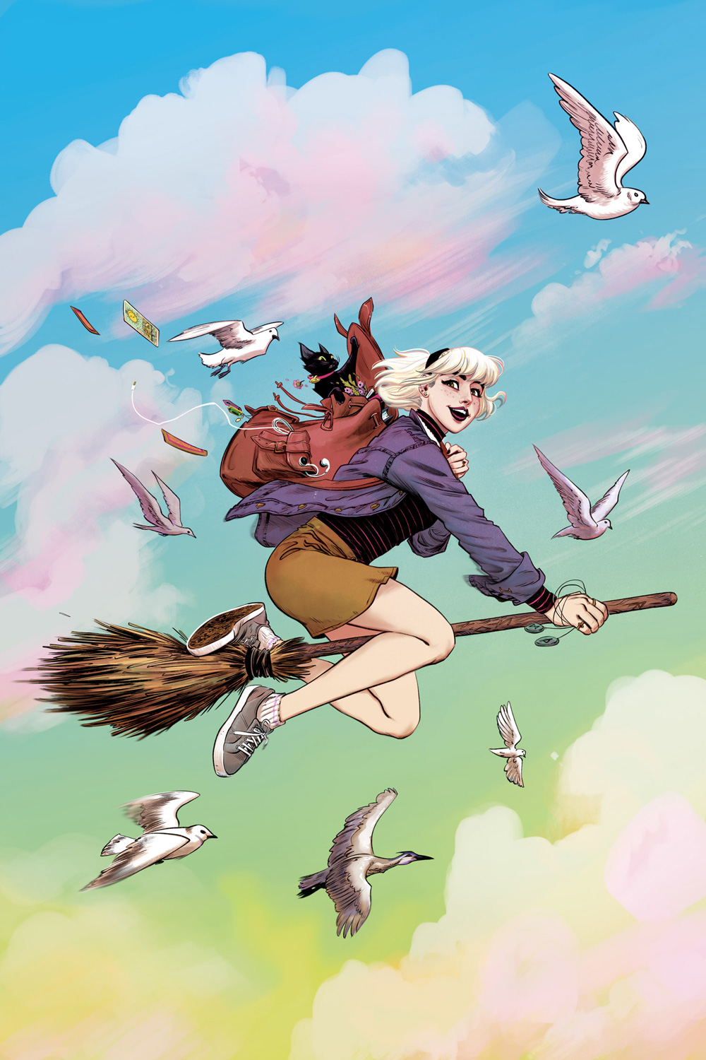 Sabrina the Teenage Witch #1: CVR A Fish
