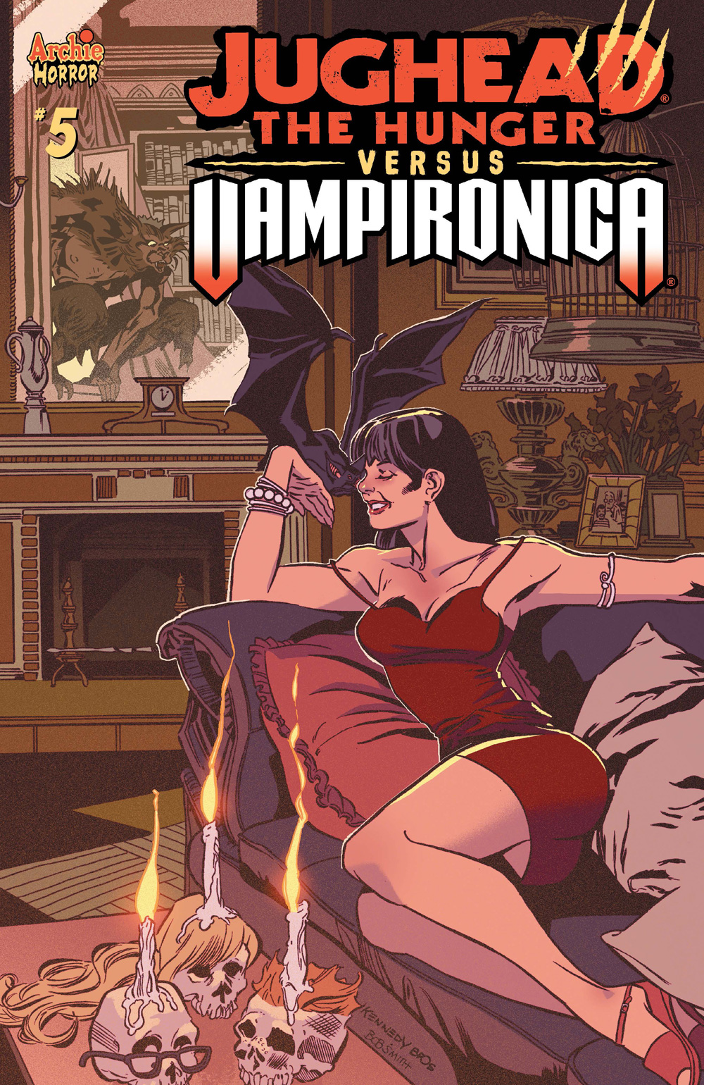 JUGHEAD THE HUNGER VS VAMPIRONICA #5: CVR A Kennedy