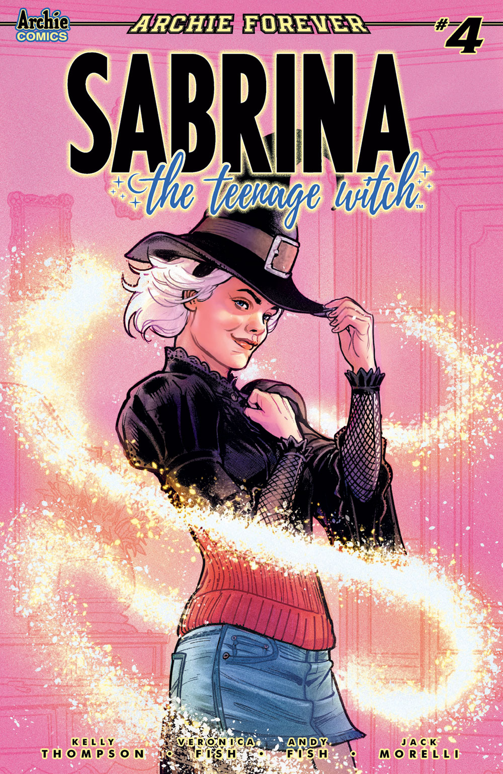 SABRINA THE TEENAGE WITCH #4: CVR B Ibanez