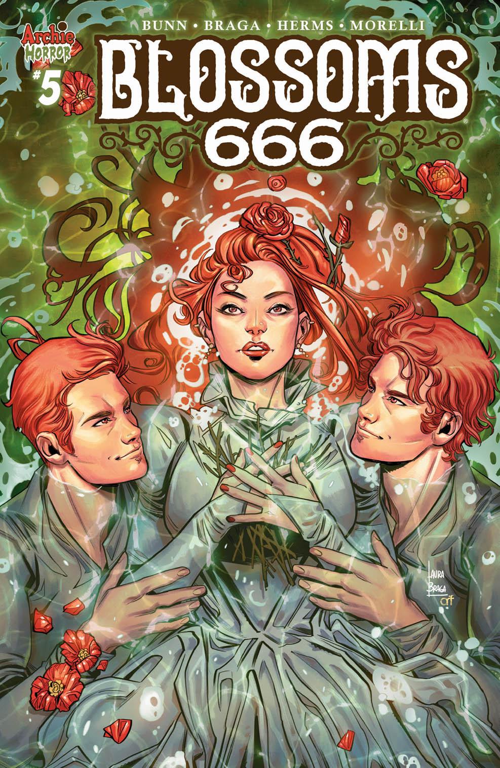 BLOSSOMS 666 #5: CVR A Braga
