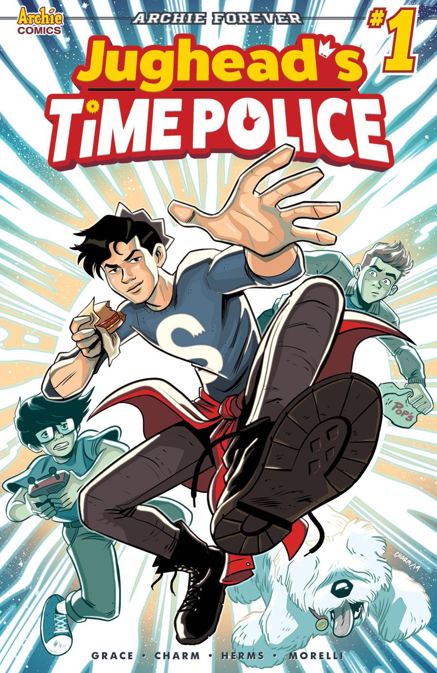 JUGHEAD'S TIME POLICE #1: CVR A Charm