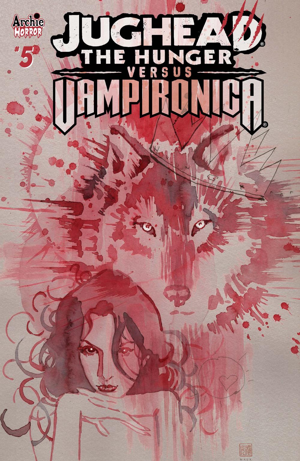 JUGHEAD: THE HUNGER VS. VAMPIRONICA #5: CVR B Mack