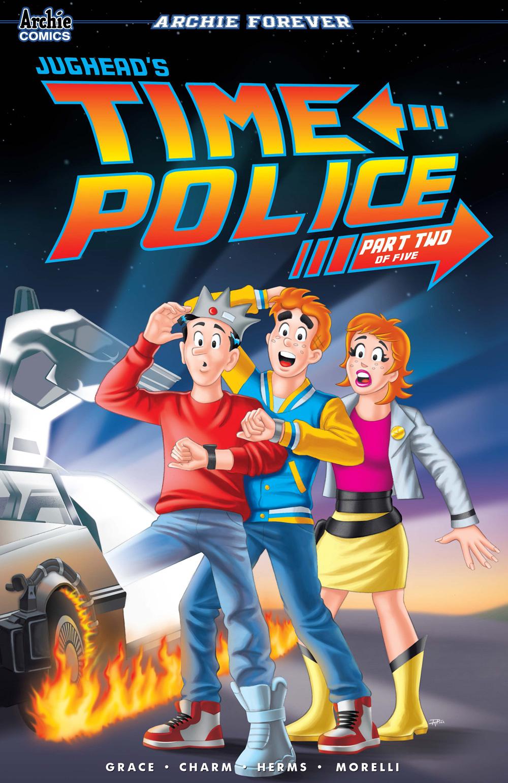 JUGHEAD'S TIME POLICE #2: CVR C Pena