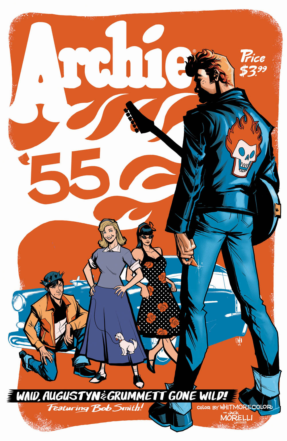 ARCHIE 1955 #1: CVR E Woods