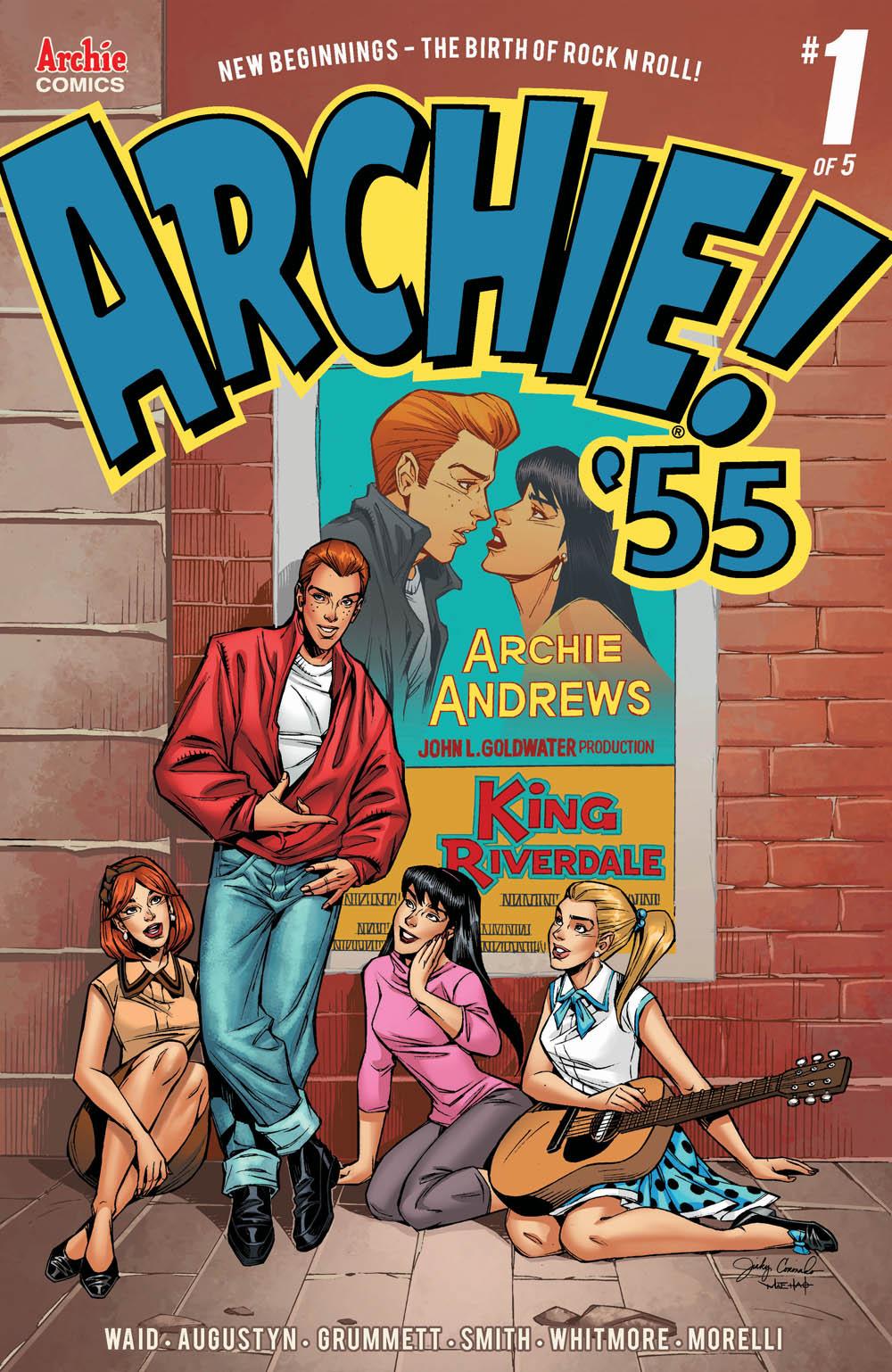 ARCHIE 1955 #1: CVR B Coronado
