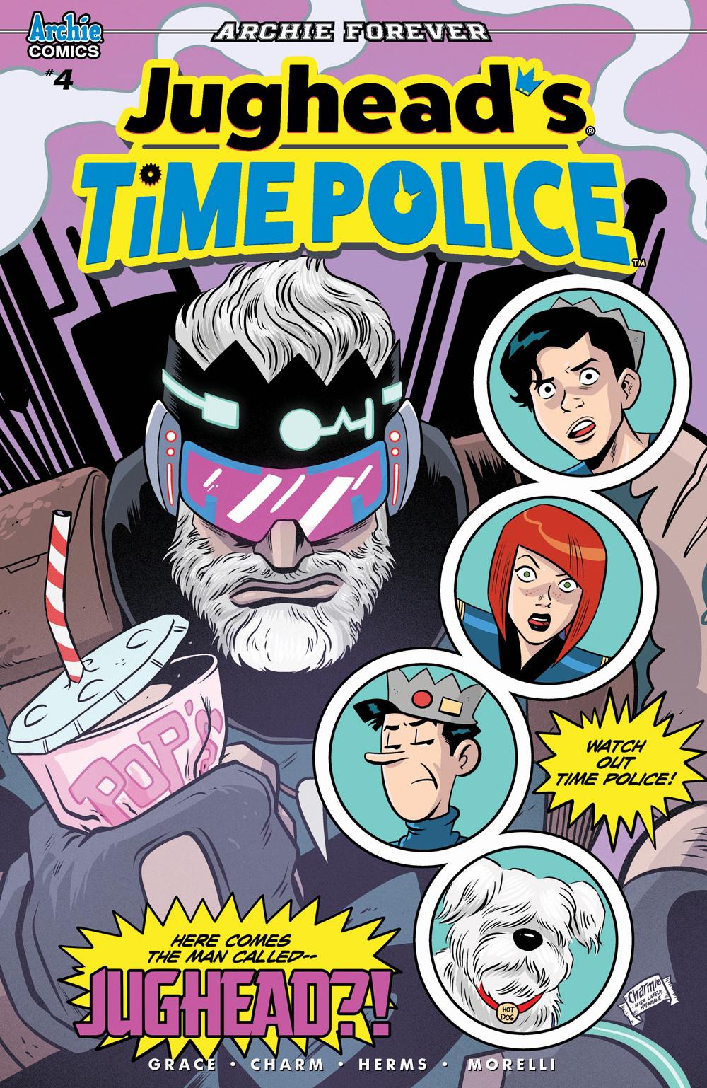 JUGHEAD'S TIME POLICE #4: CVR A Charm