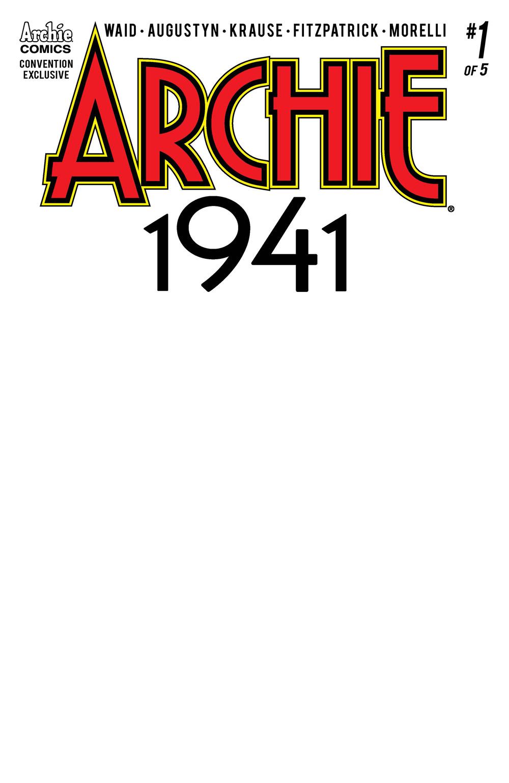 ARCHIE 1941 #1 Sketch Variant