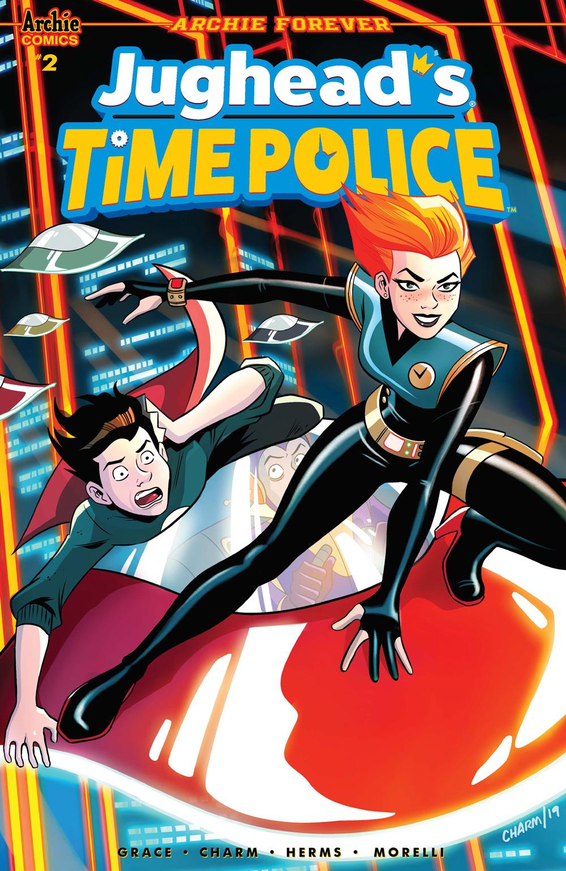 JUGHEAD'S TIME POLICE #2: CVR A Charm