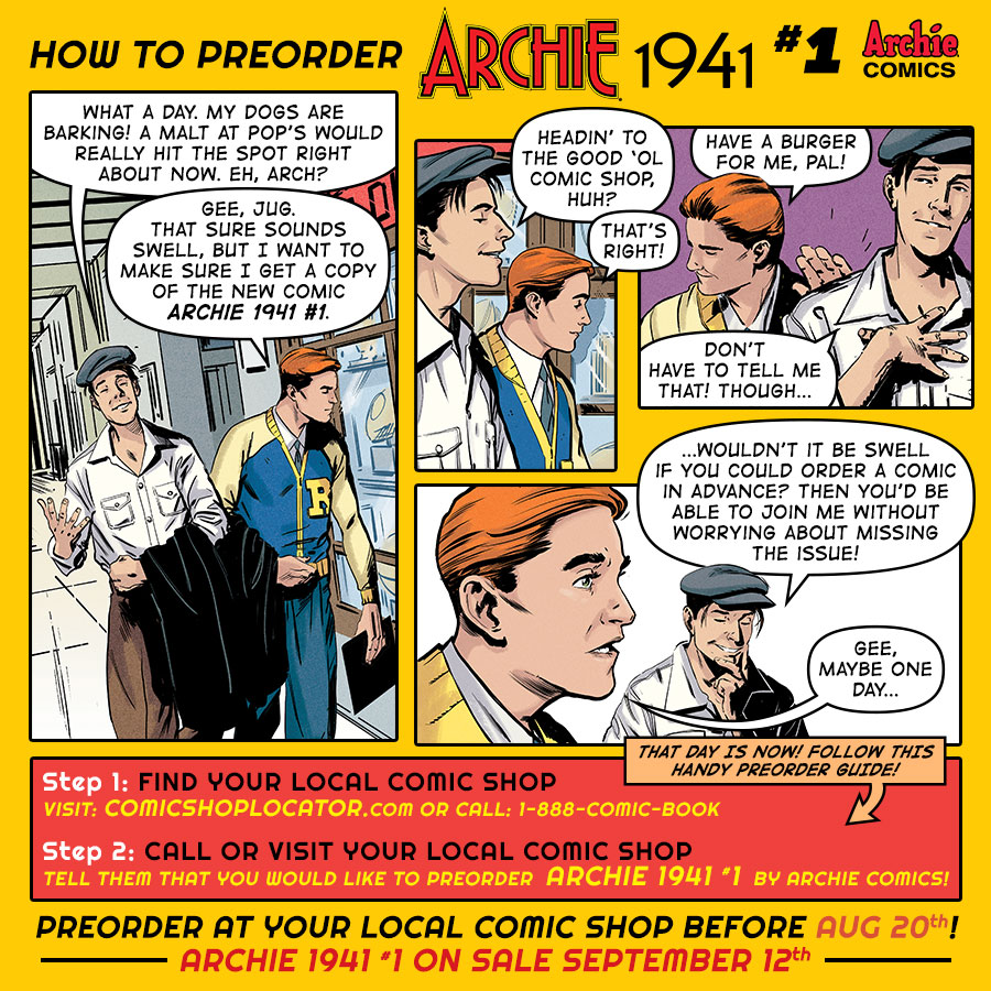 Pre-Order ARCHIE 1941 #1